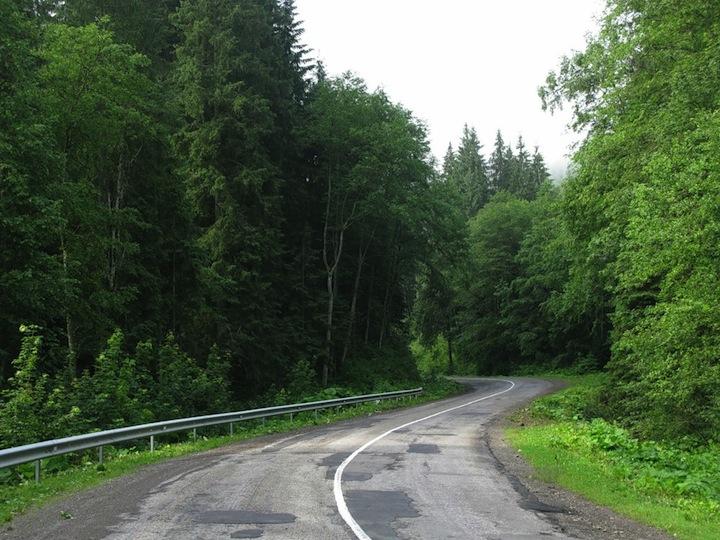 Яблунецкий Перевал. Карпаты