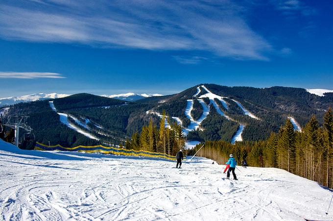 Лучшие горнолыжные трассы Карпат