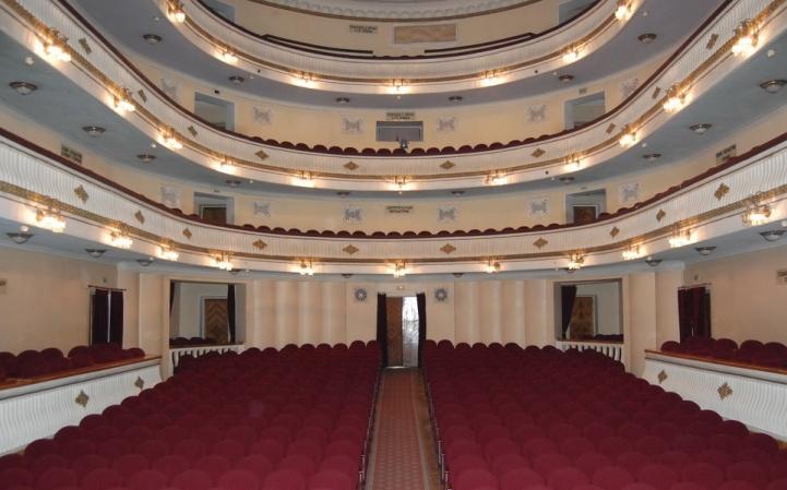 Днепропетровск. Драматический театр. Зал
