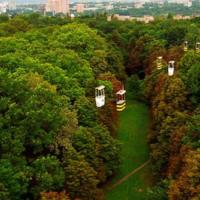 Подвесная канатная дорога. Харьков