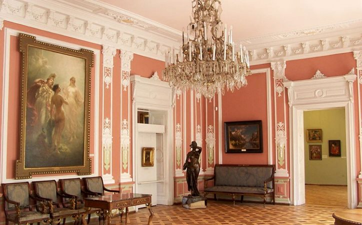 Дворец Потоцких. Галерея