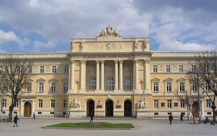 Львовский университет. Главный вход