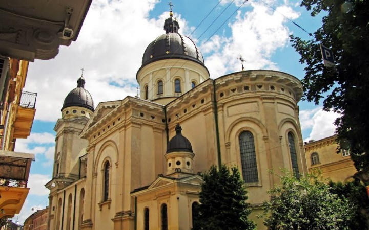 Церковь Преображения. Львов