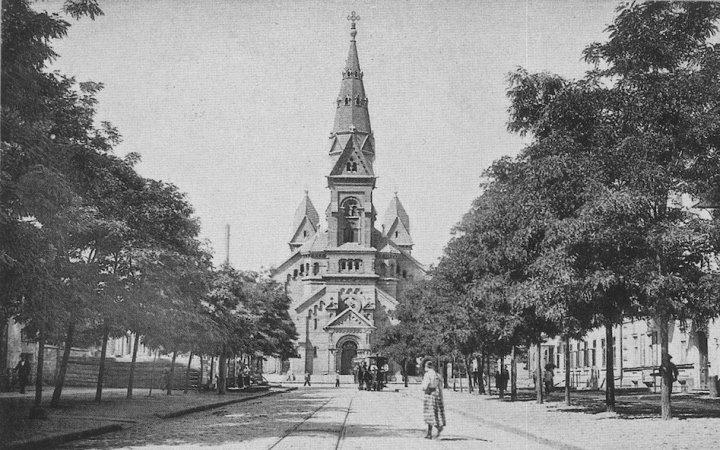 Лютеранская церковь в Одессе. старинное фото