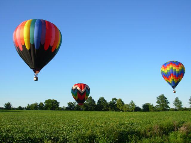 Полеты на воздушном шаре в Киеве