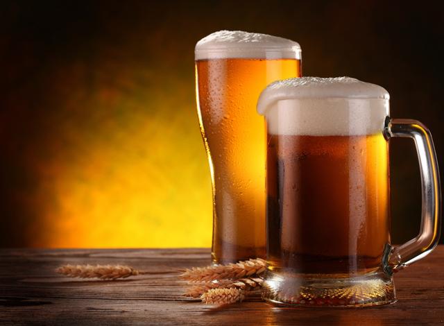 Выпить пива