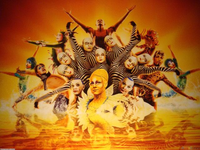 Цирк дю солей (cirque du soleil)
