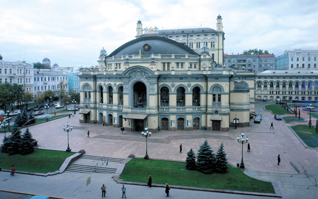 Театры Киева