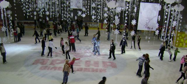 Где покататься на коньках в Киеве. Ледовые катки.