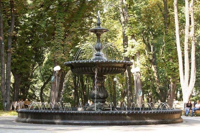 Мариинский парк. Киев
