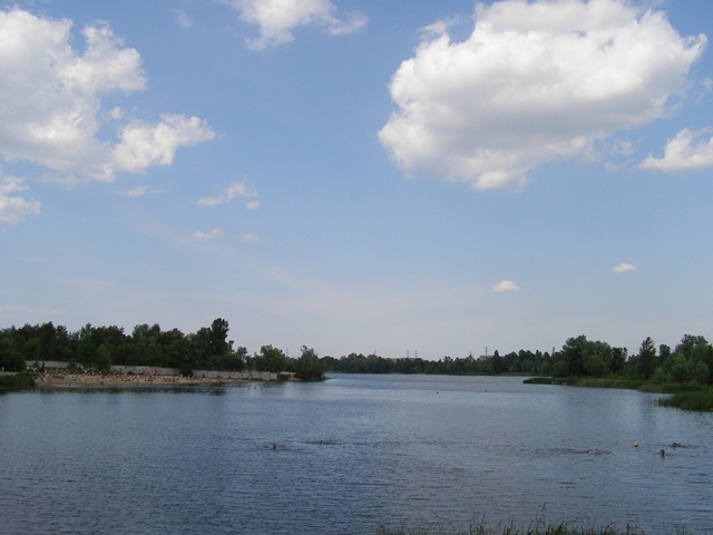 Озеро «Редькино» (Министерка). Киев.