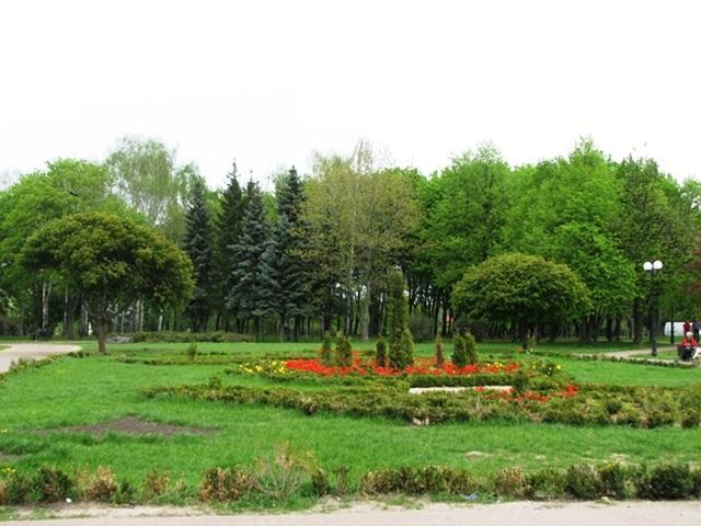 Парк «Отрадный». Киев.