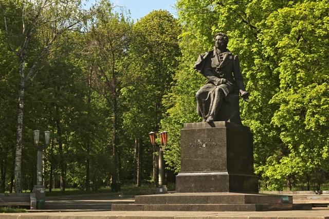 Парк Пушкина. Киев.