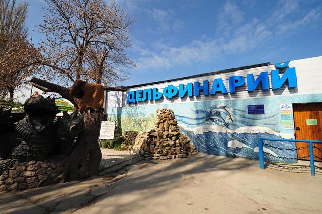 Севастопольский дельфинарий в Артбухте. Севастополь.
