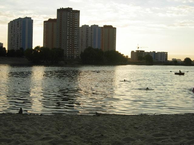 Озеро «Солнечное». Киев.