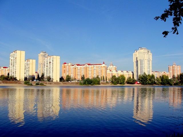 Озеро «Вербное». Киев.