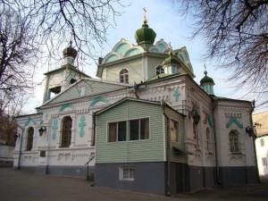 Храм Вознесения Господня на Демеевке. Киев.