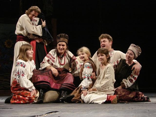 Кайдашева сім`я. Спектакль в Киеве.