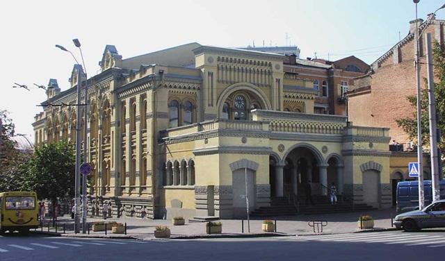Синагога Бродского. Киев.
