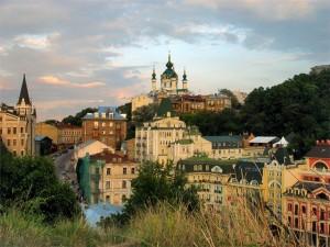 Красивые места Киева