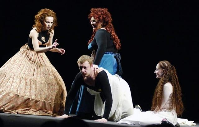 Ромео и Джульетта. Спектакль в Киеве.