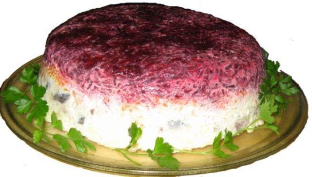 Как делать салат шубу фото