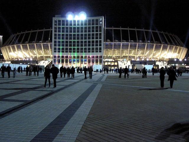 Схема НСК «Олимпийский»