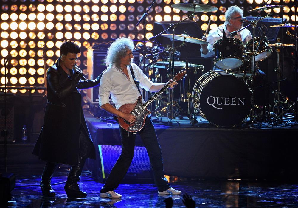 Queen и Адам Ламберт в Украине