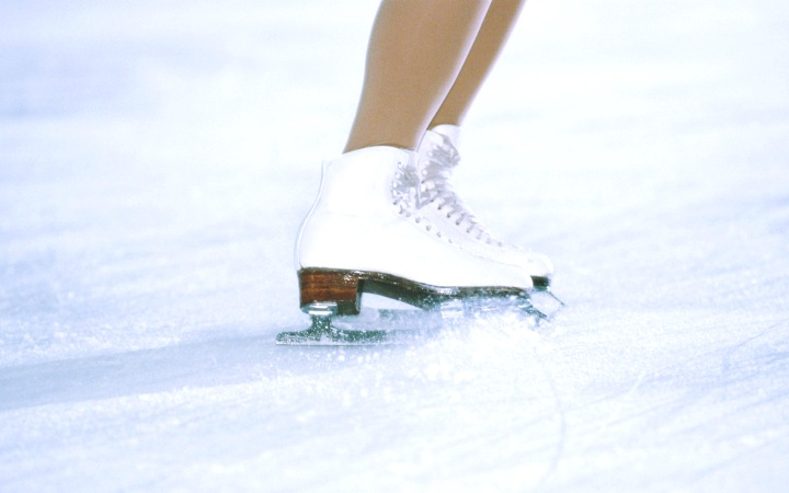 Катание на коньках. Техника катания.