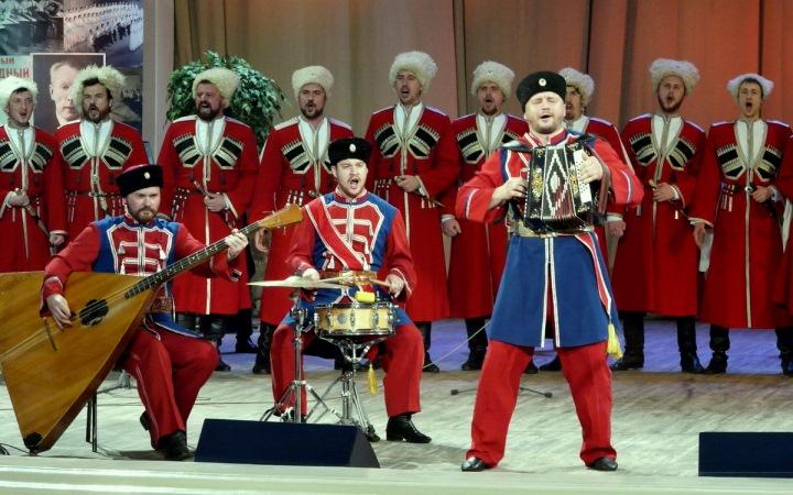 Кубанский казачий хор. Концерт в Киеве. 27-28 марта