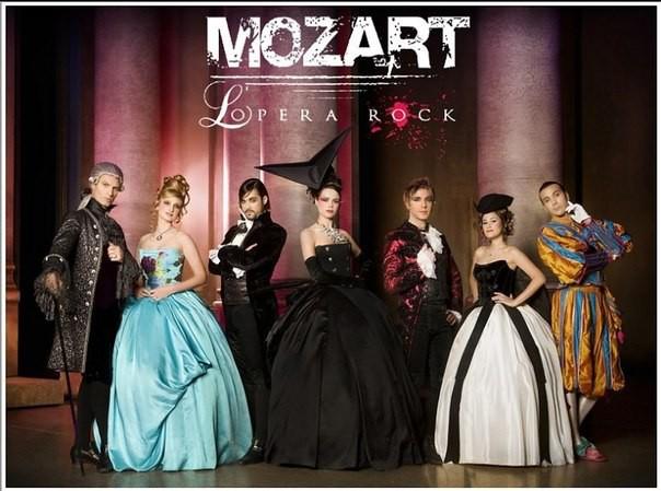 Моцарт. Рок-Опера в Киеве