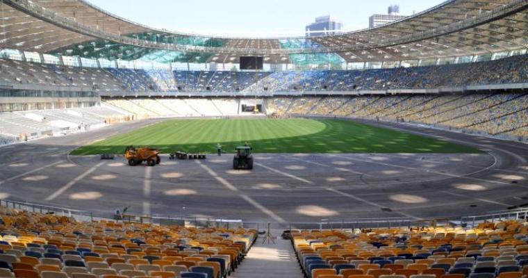 Экскурсия в Киеве: Эксклюзивная экскурсия на стадион «Олимпийский»
