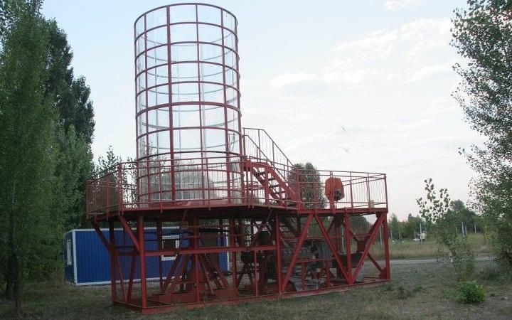 Аэродинамическая труба в Киеве