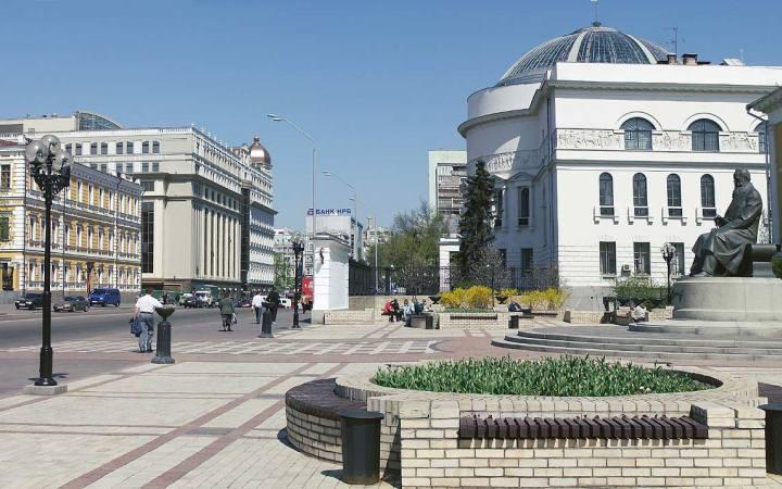 Экскурсия по улице Владимирская