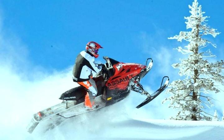 Катание на снегоходе в Украине. Где кататься на снегоходах