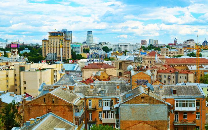 Крыши Киева. Лучшие виды