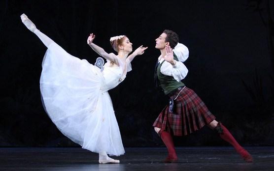 Балет «Сильфида». Спектакль в Киеве. 15 декабря