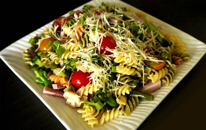 фото рецепты салатов из макарон
