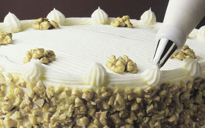 Как украшать торты. Мастер-класс