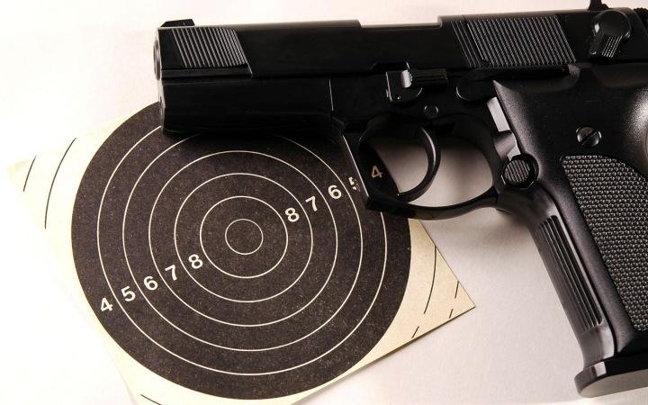 стрельба из пистолета, где пострелять