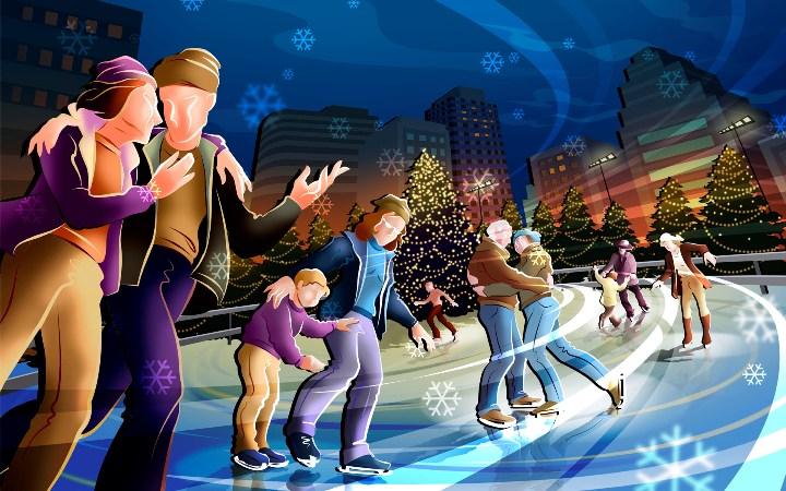 где покататься на коньках, мастер класс по катанию на коньках, чем заняться во время отдыха - дополнительные услуги, во сколько обойдется такой отдых
