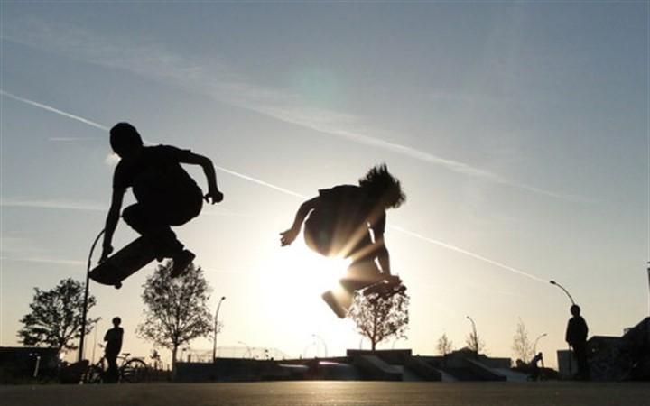 Скейт. Скейтбординг.