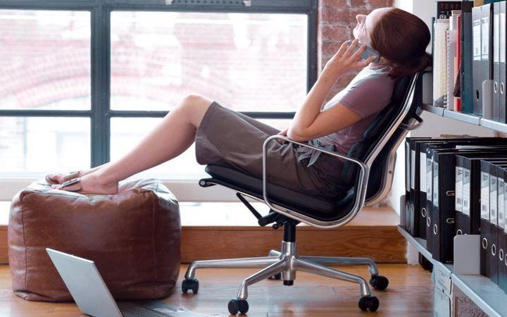 Упражнения в офисе. Займитесь собой не отрываясь от работы