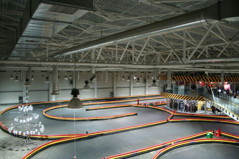 Подземный картинг на НСК «Олимпийский»
