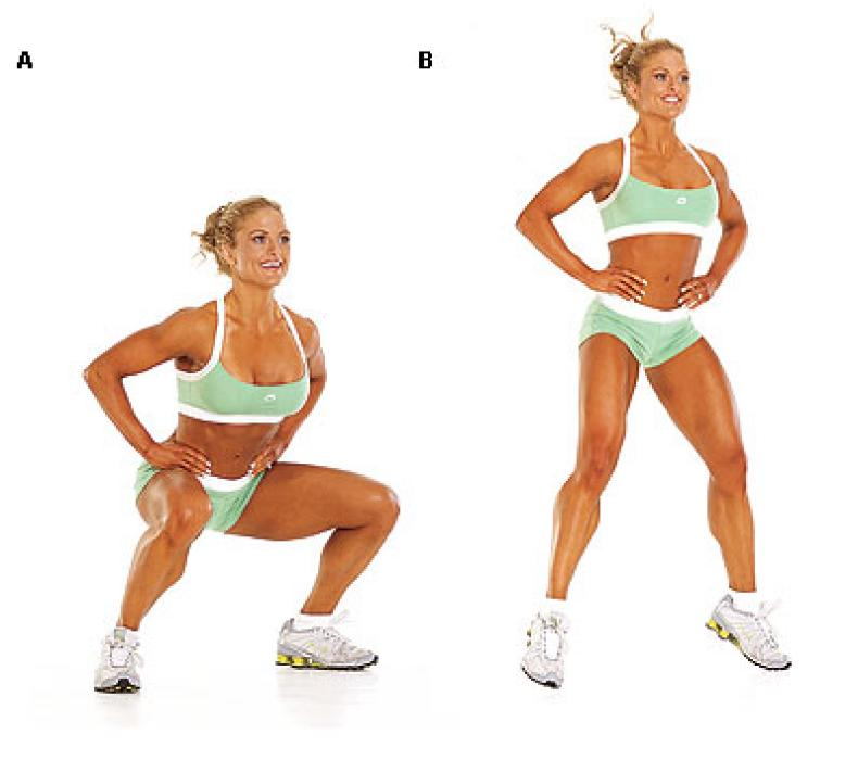 Правильное похудение для ног