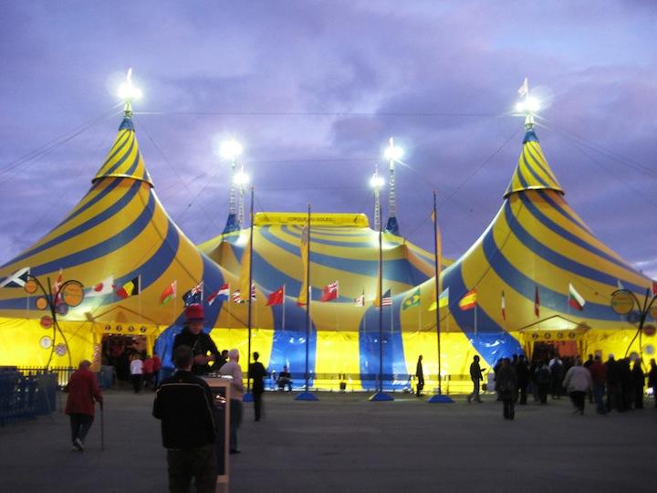 Alegria от Cirque du Soleil. Интересные факты
