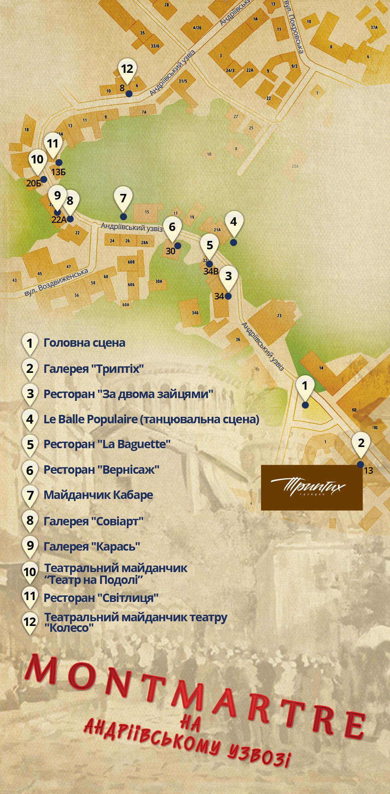 Монмартр на Андреевском Спуске 2013