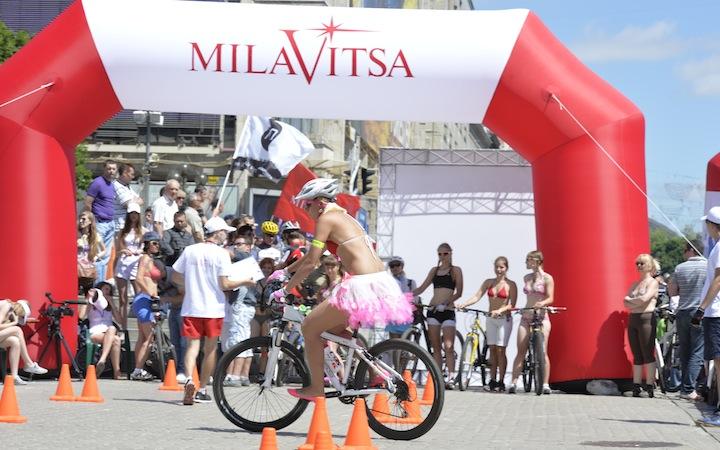 Женская велогонка