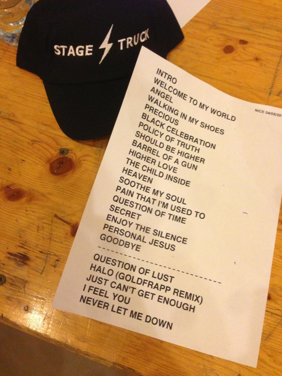 Мировой тур Depeche Mode