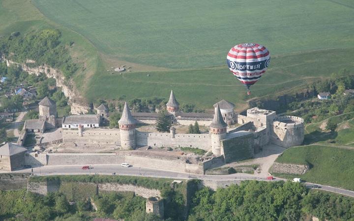 Чемпионат воздушных шаров в Каменец-Подольском. 16-19 мая